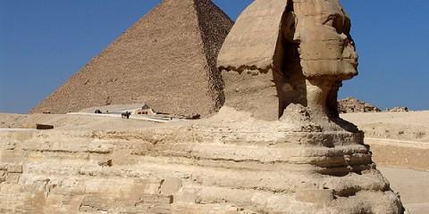 Pyramiderne, Ægypten