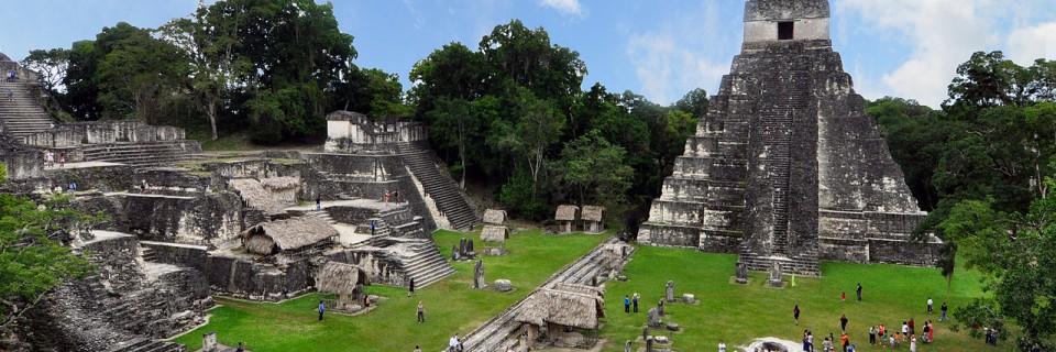 Tikal – mayatempler